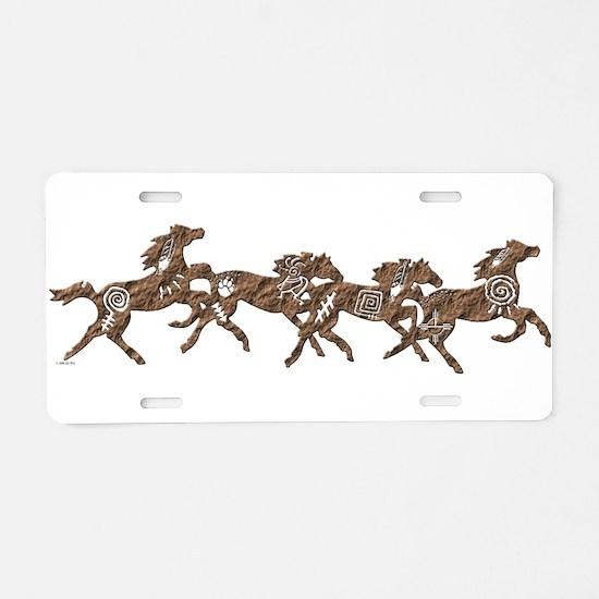 Stone Ponies Aluminum License Plate