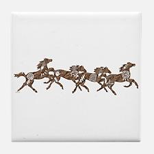 Stone Ponies Tile Coaster