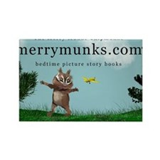 The Merry Munks Chipmunks, Douglas Toy Air Magnets