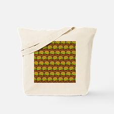 Fun Yummy Hamburger Pattern Tote Bag