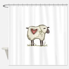 WOOLY SHEEP Shower Curtain