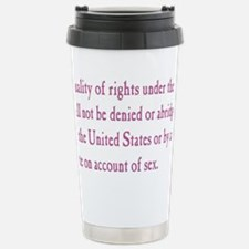 Equal Rights Amendment Travel Mug