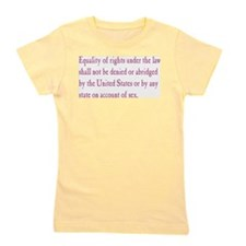 Equal Rights Amendment Girl's Tee