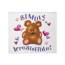 Simply Irresistible! Throw Blanket