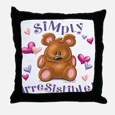 Simply Irresistible! Throw Pillow