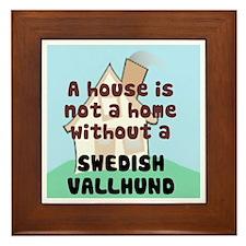 Vallhund Home Framed Tile