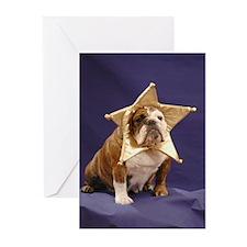 Chubby Star Cards--BLANK (Pk of 10)