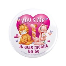 """You and Me 3.5"""" Button"""