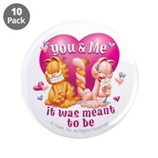 "You and Me 3.5"" Button (10 pack)"