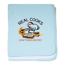 REAL COOKS baby blanket