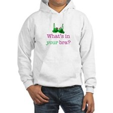 What's in your bra? Hoodie