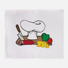 CHEFS TABLE Throw Blanket