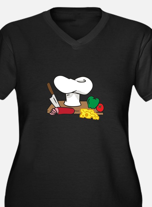 CHEFS TABLE Plus Size T-Shirt