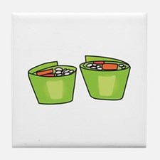 SUSHI ROLLS Tile Coaster
