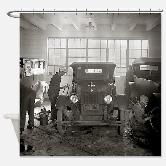 Unique 20s Shower Curtain