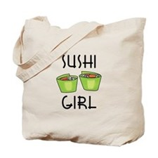 SUSHI GIRL Tote Bag
