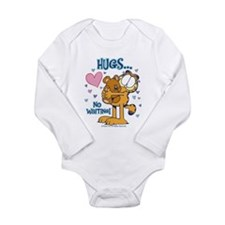 Hugs...No Waiting! Long Sleeve Infant Bodysuit