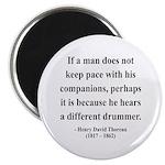 Henry David Thoreau 6 Magnet
