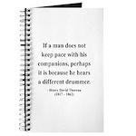 Henry David Thoreau 6 Journal