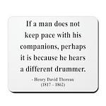 Henry David Thoreau 6 Mousepad