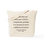 Henry David Thoreau 6 Tote Bag