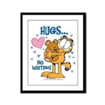 Hugs...No Waiting! Framed Panel Print