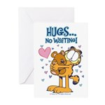 Hugs...No Waiting! Greeting Cards (Pk of 20)