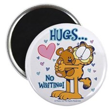 Hugs...No Waiting! Magnet