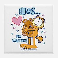 Hugs...No Waiting! Tile Coaster