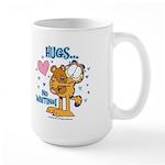 Hugs...No Waiting! Large Mug