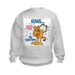 Hugs...No Waiting! Kids Sweatshirt