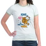 Hugs...No Waiting! Jr. Ringer T-Shirt
