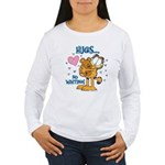 Hugs...No Waiting! Women's Long Sleeve T-Shirt