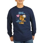 Hugs...No Waiting! Long Sleeve Dark T-Shirt