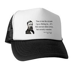 Henry David Thoreau 7 Trucker Hat