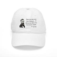 Henry David Thoreau 7 Baseball Cap