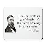 Henry David Thoreau 7 Mousepad