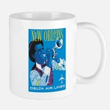 Vintage New Orleans Jazz Mugs