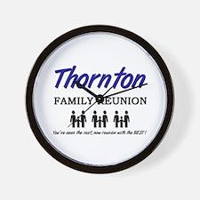 Thornton Family Reunion Wall Clock