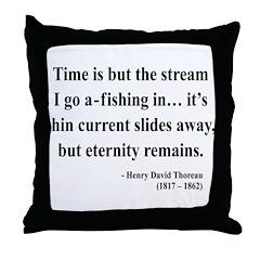 Henry David Thoreau 7 Throw Pillow