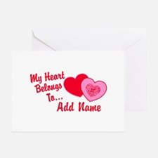 My Heart Belongs To Greeting Card