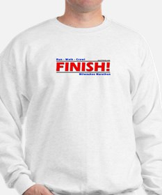 FINISH! Milwaukee Marathon Sweatshirt