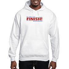 FINISH! Milwaukee Marathon Hoodie