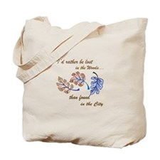 PACIFIC ISLAND LEAVES Tote Bag