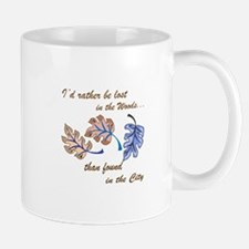 PACIFIC ISLAND LEAVES Mugs