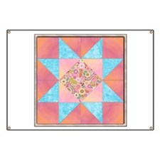 Sunset and Water Quilt Square.png Banner