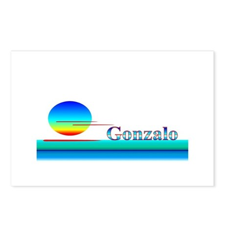 Gonzalo Postcards (Package of 8)