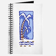 PACIFIC ISLAND PALM TREE Journal
