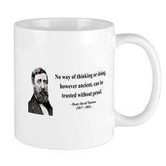 Henry David Thoreau 8 Mug