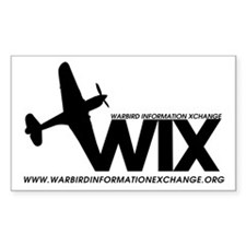 WIX Small Rectangle Decal